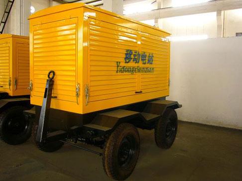 移动拖车发电机组-泰州市海锋机械制造有限公司
